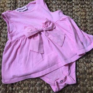NWOT Juicy Couture Pink Skirted Onesie 3-6 Months